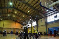 حضور ۸ تیم در لیگ بسکتبال با ویلچر بانوان