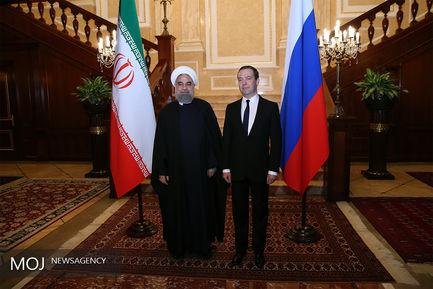 رییس جمهور وارد مسکو شد