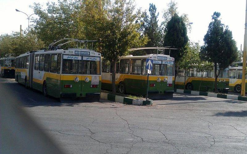 راهاندازی دو خط اتوبوس برقی در جنوب تهران