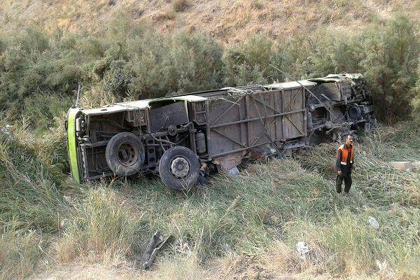 جزئیات واژگونی اتوبوس حامل زائران ایرانی در نزدیکی مرز مهران