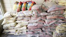 توقیف محموله برنج قاچاق در نایین