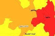 مشهد در وضعیت قرمز کرونایی