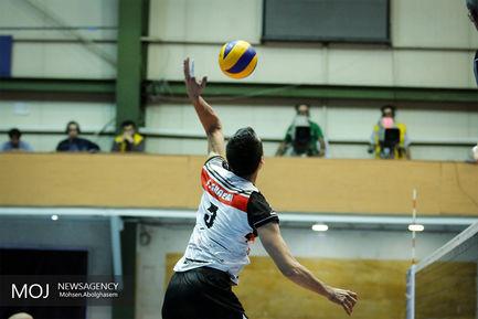 دیدار تیم های والیبال بانک سرمایه و کاله مازندران