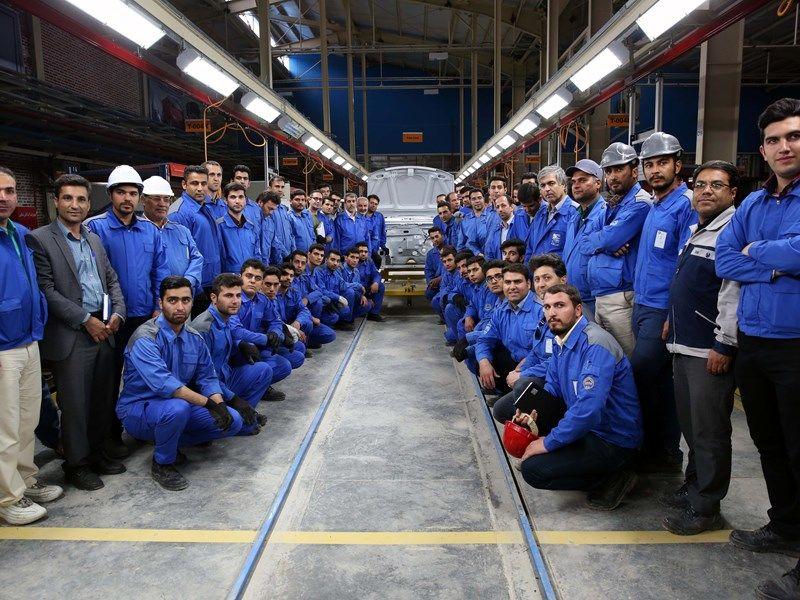 آغاز به کار خط تولید پژو پارس بااعتبار 57 میلیارد تومان