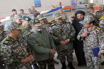 فرمانده کل ارتش از منطقه پدافند هوایی شمال شرق بازدید کرد