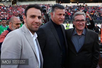 دیدار تیم های فوتبال پرسپولیس و سایپا