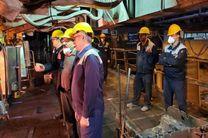 دیدار مدیرعامل شرکت ذوب آهن اصفهان با تلاشگران خط تولید