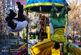 پارکوریستهای اردبیلی و تبریزی در خانه پارکور اردبیل به رقابت پرداختند