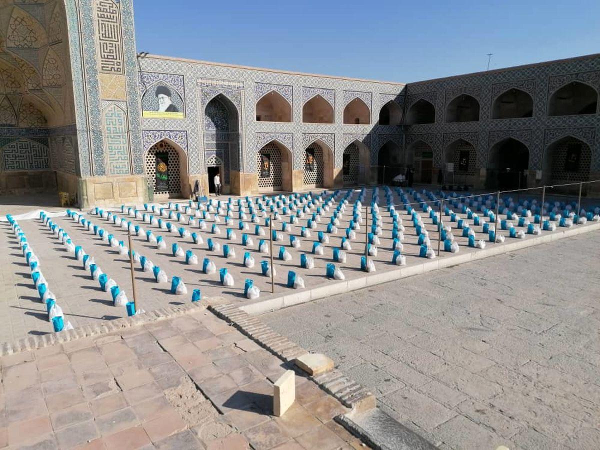 توزیع ۳۵۰۰ بسته معیشتی با اجرای طرح ضیافت همدلی در شهرستان اصفهان