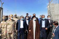 رییس قوه قضاییه از ناحیه مرزی دوغارون همجوار با کشور افغانستان بازدید کرد