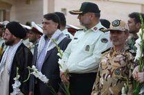 پیکر شهید گمنام در اهواز تشییع و خاکسپاری شد