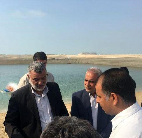 وزیر جهاد و کشاورزی از 2 طرح شیلاتی بازدید کرد