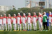 شکست بانوان فوتبالیست ایران مقابل روسیه