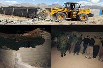 تخریب 81 مورد ساخت وساز غیر مجاز در اراضی کشاورزی اصفهان