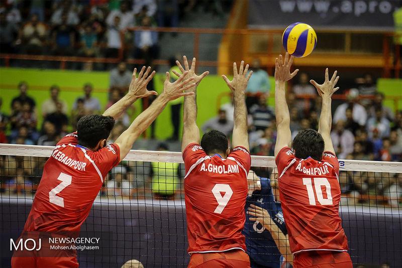 پخش زنده بازی والیبال ایران و آمریکا از شبکه سه سیما