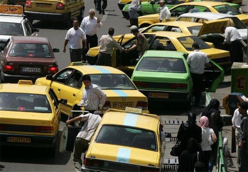 آمادهباش رانندگان تاکسی برای روزهای پایانی سال