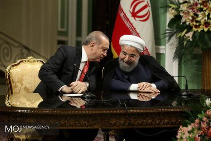 نشست+مشترک+خبری+روسای+جمهور+ایران+و+ترکیه