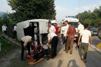 تصادف سرویس مدرسه دانش آموزان دختر/ 10 نفر مصدوم شدند