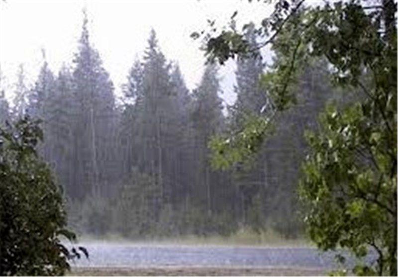 آسمان کرمانشاه بارانی می شود
