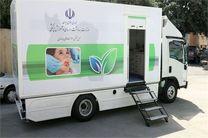 استقرار 3 دستگاه کلینیک سیار دندانپزشکی در کرمانشاه
