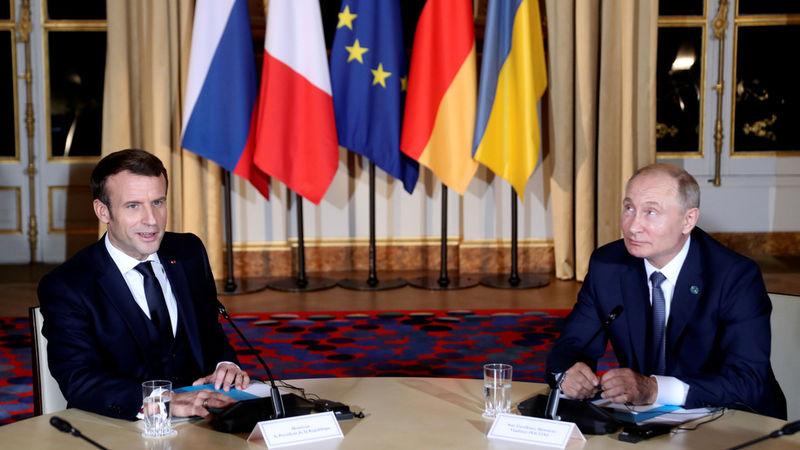 ولادیمیر پوتین از دیدار با رئیس جمهور اوکراین ابراز خشنودی کرد