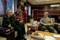 رئیس ستاد کل نیروهای مسلح با وزیر دفاع دیدار کرد