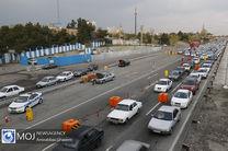ترافیک نیمه سنگین در محورهای منتهی به پایتخت