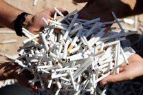 کشف سیگار قاچاق در سواحل بندرعباس