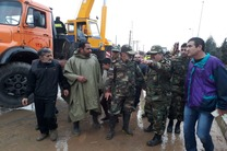 اعزام 250 نیروی زمینی ارتش مستقر در اصفهان به مناطق سیل زده