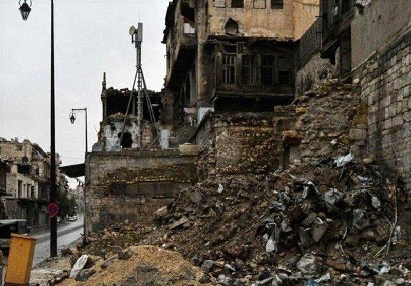 حمله راکتی به مناطقی از شهر حلب و حومه حماه