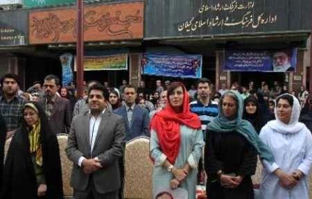 برپایی نمایشگاه خیریه آثار هنری در پیاده راه فرهنگی رشت