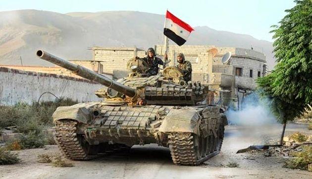 ارتش سوریه در محورهای حومه دمشق پیشروی کرد
