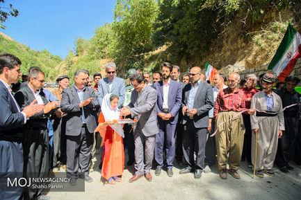 افتتاح پروژه های عمرانی در سنندج