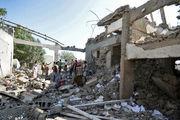 وزارت دفاع یمن مورد حمله ائتلاف سعودی قرار گرفت