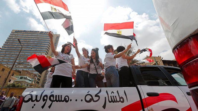 نتایج همهپرسی قانون اساسی مصر اعلام شد