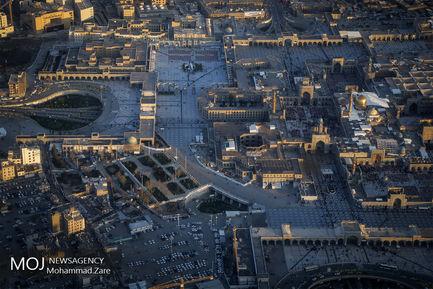 عکس های هوایی از مشهدالرضا
