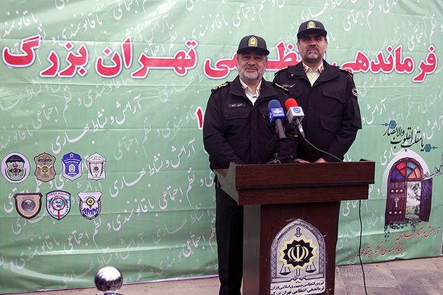 اولویتهای ناجا در سال 96 / استقرار 553 پاسگاه موقت پلیس در محلات تهران