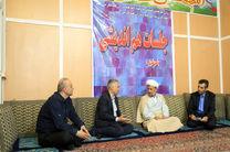 مدیرعامل ذوب آهن اصفهان و امام جمعه زرین شهر دیدار کردند