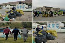 700 طرفدار محیطزیست، شهر سرپل ذهاب را از زباله پاک میکنند