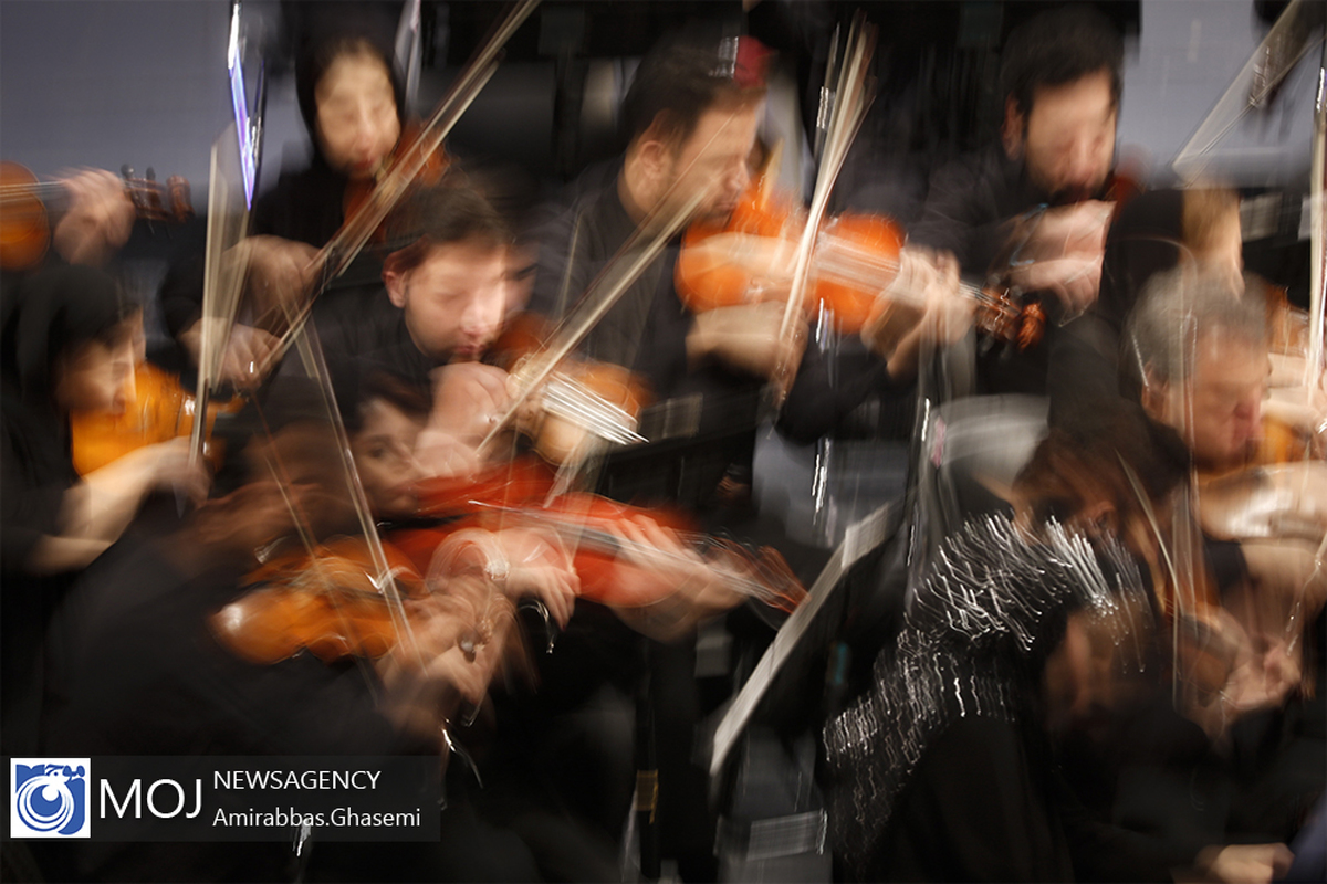 اجرای ارکستر سمفونیک سوریه در سالگرد شهید سردار سلیمانی