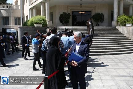 حاشیه جلسه هیات دولت - ۲۳ مرداد ۱۳۹۸