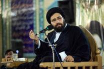 سیدعلی خمینی با خانواده شهدای 15 خرداد دیدار  کرد