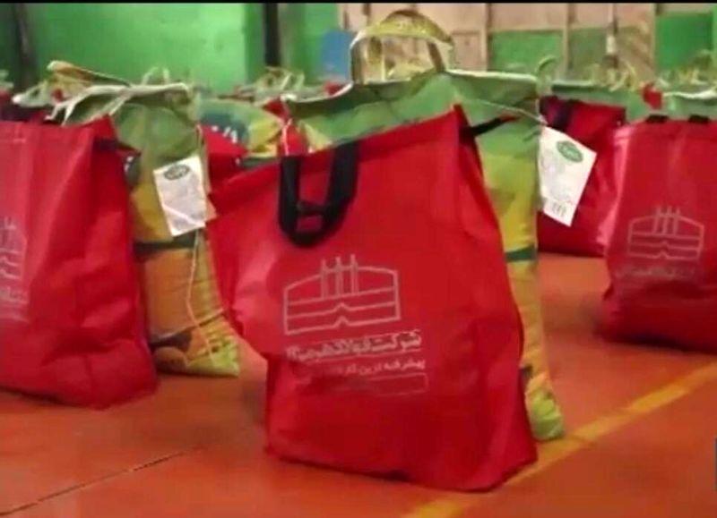 اهدا 500 بسته مواد غذایی به نیازمندان استان هرمزگان
