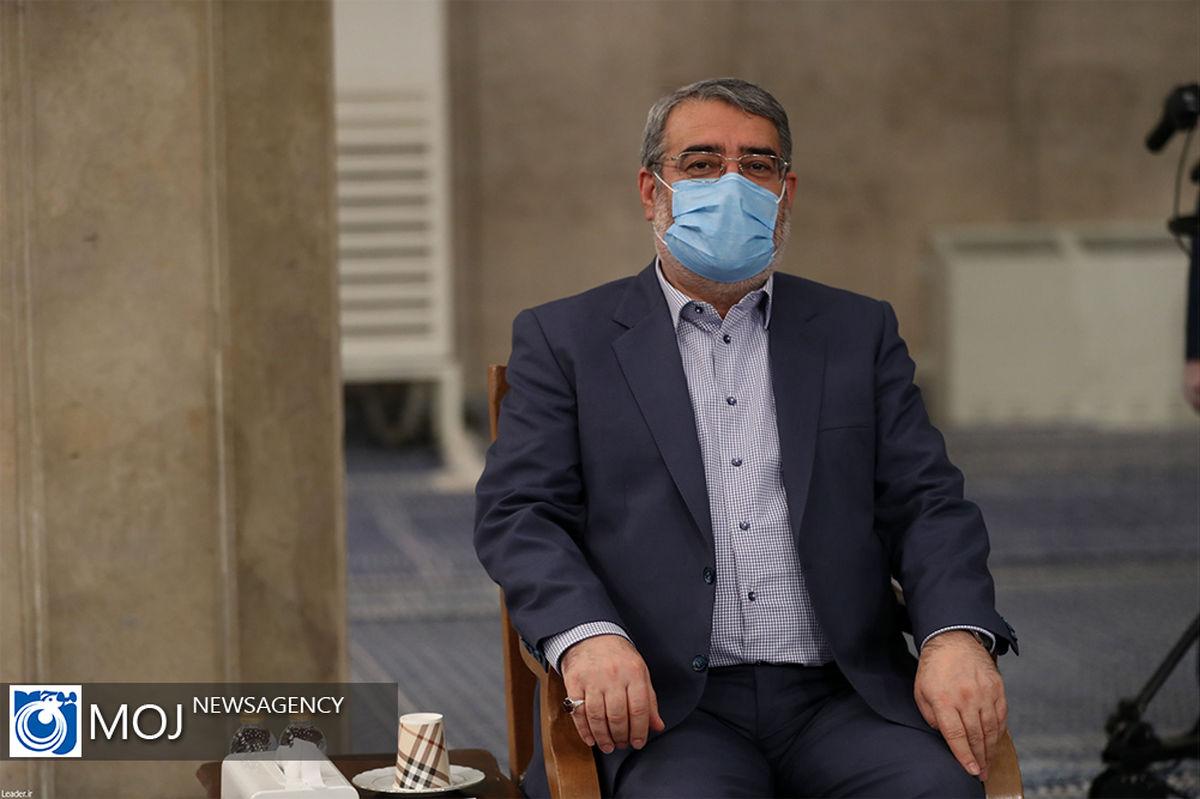 وزیر کشور درگذشت نماینده ولی فقیه در بنیاد شهید و امور ایثارگران را تسلیت گفت