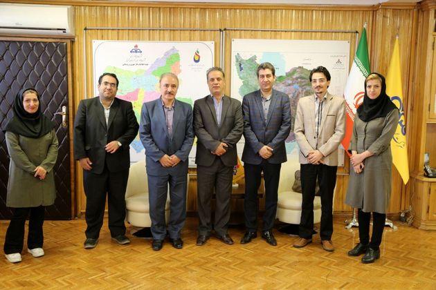 نشست مشترک مدیران شرکت گاز با هیات مدیره خانه مطبوعات آذربایجان شرقی