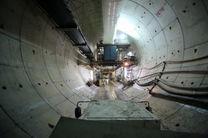 حفاری بیش از ۸۰۰۰ متر از تونل مترو قم