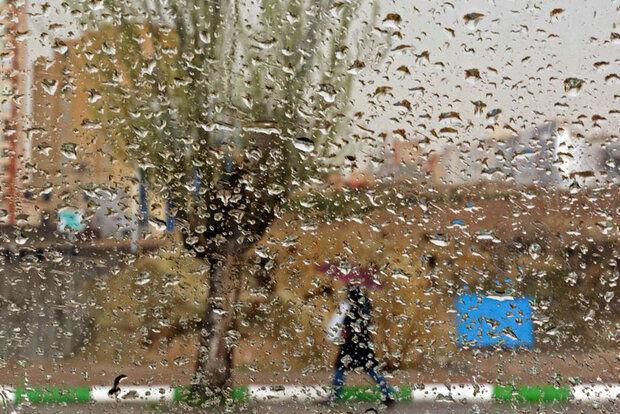پیش بینی بارش باران در البرز