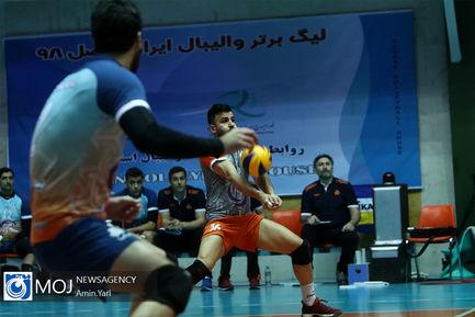 دیدار تیم های والیبال سایپا و شهرداری ارومیه - ۲۰ بهمن ۱۳۹۸