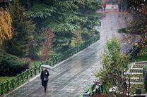 پیش بینی بارش شدید باران در 12 استان کشور