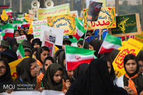 قلب تپنده انقلاب شکوهمند اسلامی مردم ایران ۱۳ آبان است